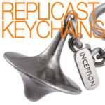 A Miniature 3-D Sculpture For Your Keychain